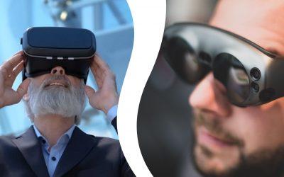¿En qué se diferencian Realidad Virtual y Realidad Aumentada?